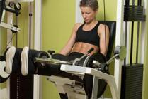 Вежби за тонирање на нозете со справи за вежбање