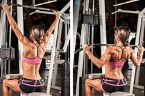 Вежби за тонирање на градите со помош на фитнес справи