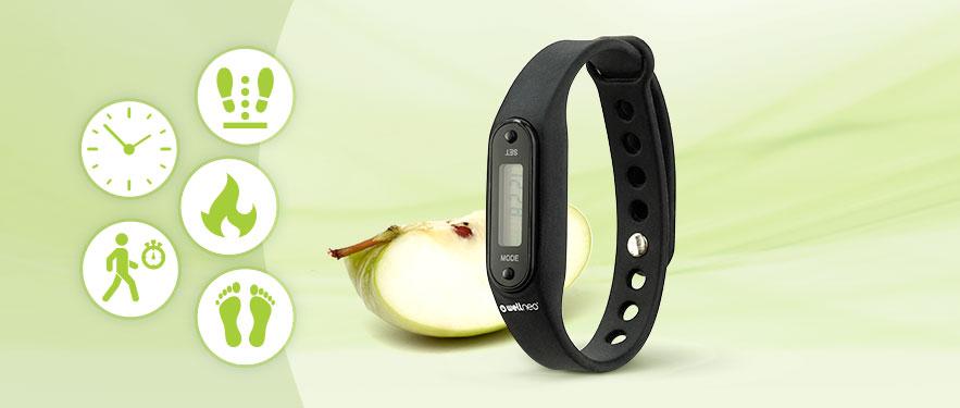 Wellneo 5во1 Фитнес часовник/тракер
