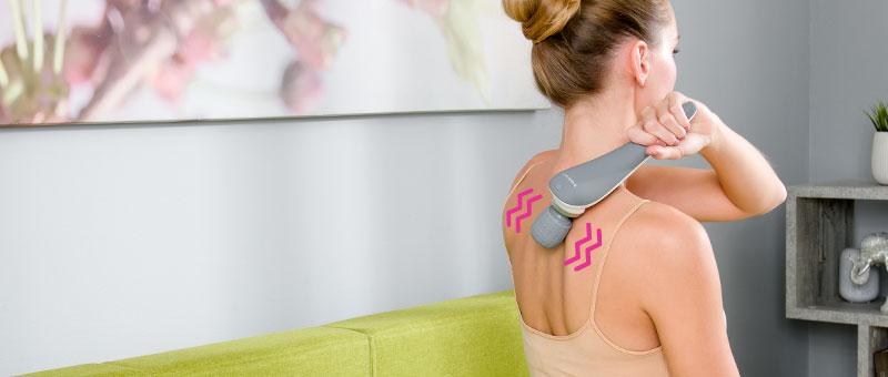 Wellneo Безжичен рачен масажер