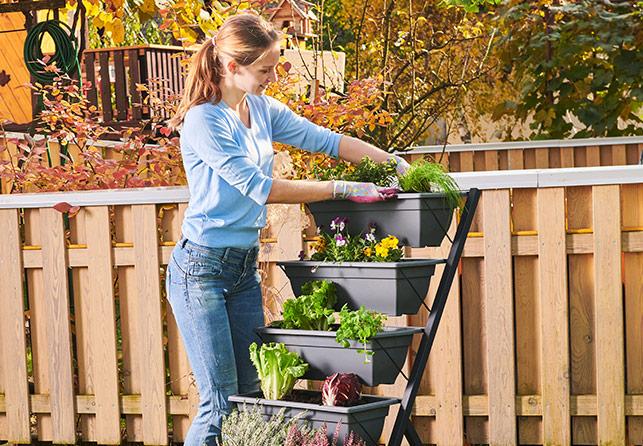 Grow Vertical Garden Planter